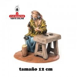 Zapatero Estilo Samaritano con tela-12cm. Conjunto
