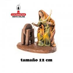 Hilandera Estilo Samaritano con tela-12cm. Conjunto