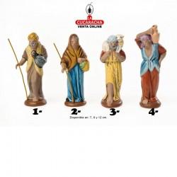 Pastores Surtidos Estilo Hebreo economico 7-9-12cm