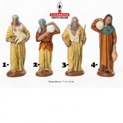 Pastores Surtidos 4 Estilo Hebreo economico 7-9-12cm. Unidad