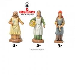 Pastores Surtidos Estilo Hebreo economico 7-9-12cm. Unidad