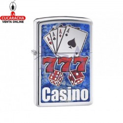 Zippo Serie Juegos modelo Fuzion Casino