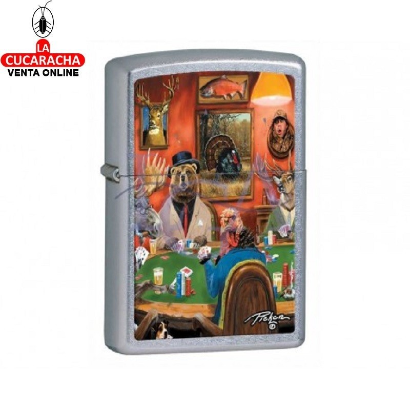 Zippo Serie Juego modelo 28006 Lp Big Game Turkey
