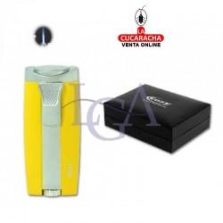 Encendedor Cozy Moldavia Laser Amarillo. 1 Unidad