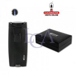 Encendedor Cozy Moldavia Laser Negro. 1 Unidad