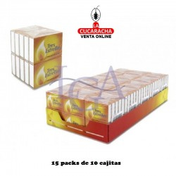 Cerillas Madera Fumador 3 Estrellas 15 Pack de 10 Unidades