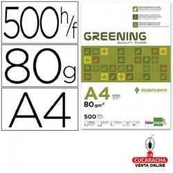 Papel Fotocopiadora DIN A4 80 Gramos Paquete 500 Hojas