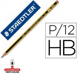 Lapiz Staedtler Noris Nº2-HB-120-2- 1 Docena