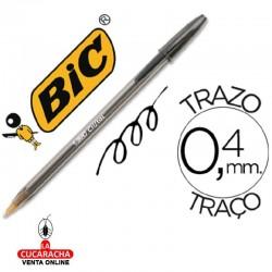 Boligrafo Bic Cristal Negro 20 Cajas de 50