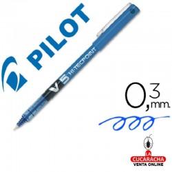 Rotulador Pilot Punta Aguja V-5 Azul 0.5 mm 6 Cajas de 12