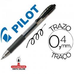 Boligrafo Pilot G-2 Negro Tinta Gel-Retractil.- Unidadx12