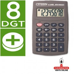 Calculadora Citizen Bolsillo LC-210 II. 8 Digitos