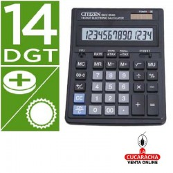 Calculadora Citizen Sobremesa SDC-554S. 14 Digitos