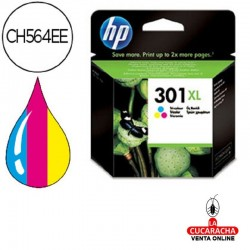 Cartuchos Tinta Originales INK-JET HP N.301XL TRICOLOR
