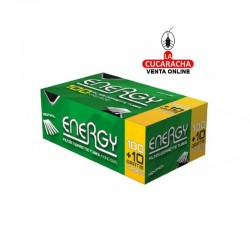 Tubos Energy Mentol Caja 110.- Unidadx100