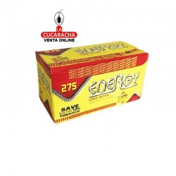 40 Cajas de 275 Tubos Energy Filtro Extra Largo.