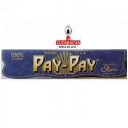 CAJA 50- PAPEL FUMAR SLIM 32HOJAS PAY PAY***