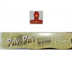 CAJA 50- PAPEL FUMAR SLIM PAY PAY GOGREEN