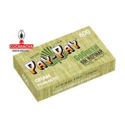 Papel Fumar Pay Pay Go Green Mazo 600 hojas