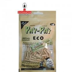 35 Bolsas de 200 Filtros PAY PAY 6mm Ecologico mas librito GoGreen.