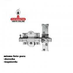 Cerrojo FAC 305 R 80 Niquelado-Izquierda-Derecha