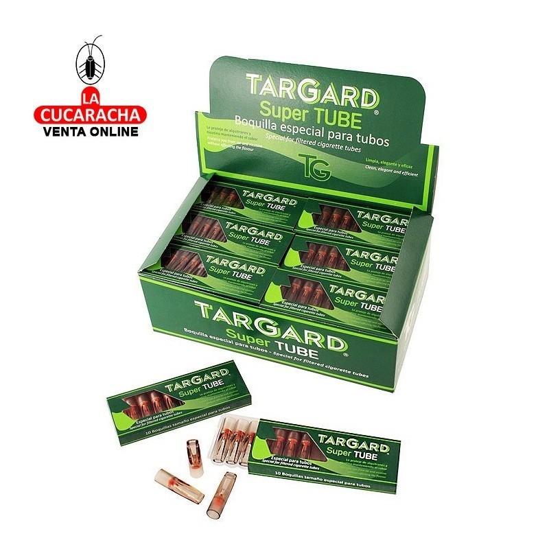 Expositor 36 cajas de 10 Unidades Super Tube Tar-Gard. Especial para tubos