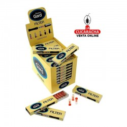 Expositor con 50 estuches de 10 filtros Doctor-Gard