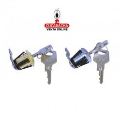 Cerradura Buzon BTV Modelo 60401 Cromo