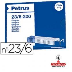 Grapas Petrus Nº- 23-6 - 25 Cajas de 1000 grapas