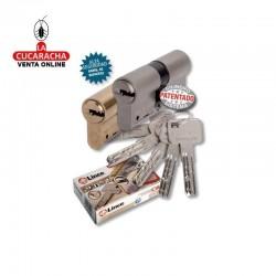 Cilindro LINCE Laton Seguridad C-65 -C-6- 30x30 L-L D-Embrague