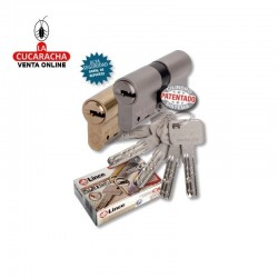 Cilindro LINCE Laton Seguridad C-65 -C-6- 30x40 L-L