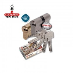 Cilindro LINCE Laton Seguridad C-63 -C-6- 30x40 L-C