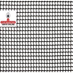 Malla Plastico Cuadranet Blanca 5x5mm. Rollo 25metros