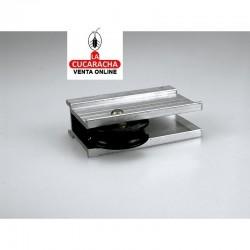 Ruleta Aluminio Con Rodamiento F-202 BB