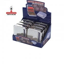 Display 8 máquinas liar cigarrillos automática metálica, 70mm, 2 diseños