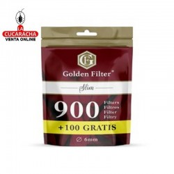 Filtros GOLDEN FILTER SLIM 6mm Bolsa de 1000