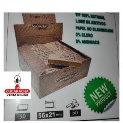 2 Estuche de 50- Filtros Tips Carton Natural ROCKET