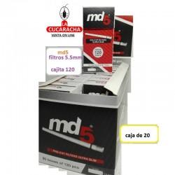 Filtros MD5 5.7mm ultra slim Caja 120.