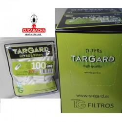 4 CAJAS 10- FILTRO 6 B100 CON CAPSULA MENTOL TARGARD