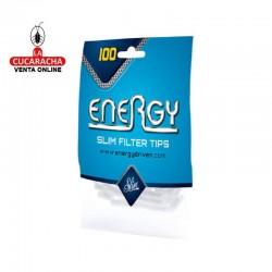 100 Bolsas de 100 Filtros ENERGY 6mm.