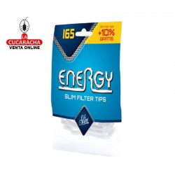 100 Bolsas de 165 Filtros ENERGY Filter Tips.