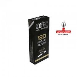 120 Cajas de 120 Filtros ENERGY 5.7mm Extra Slim.
