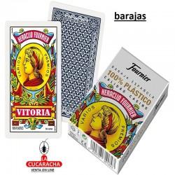 BARAJA ESPAÑOLA DE PLASTICO 50 CARTAS