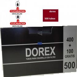 20 Cajas de 500 Tubos DOREX.