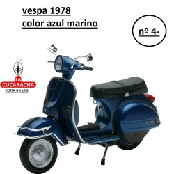 Miniatura Vespa Mini 1978-Azul
