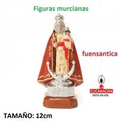 Figuras Murcianas Tradicionales VIRGEN DE LA FUENSANTA 12 CM