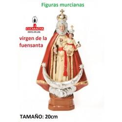 Figuras Murcianas Tradicionales VIRGEN DE LA FUENSANTA 20 CM