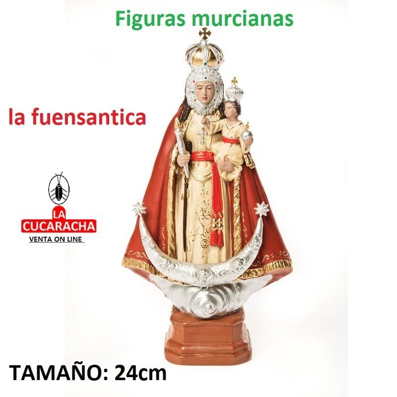 Figuras Murcianas Tradicionales VIRGEN DE LA FUENSANTA 24 CM
