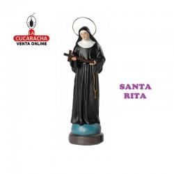 Santa Rita en barro 25 cm