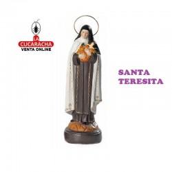 Santa Teresita en barro 25 cm